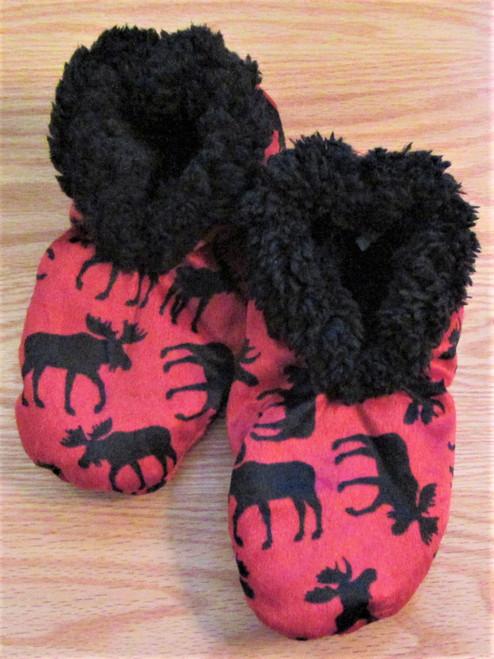 Classic Moose Fuzzy Feet
