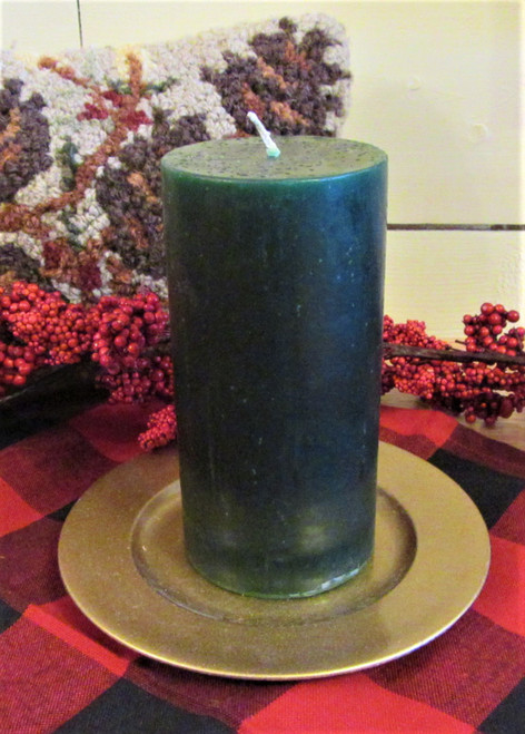 "Balsam Fir Pillar Candle 3"" x 6"""