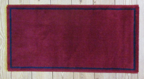 Hearth Rug Red - SALE!
