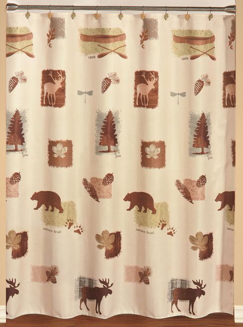 Nature's Trail Shower Curtain