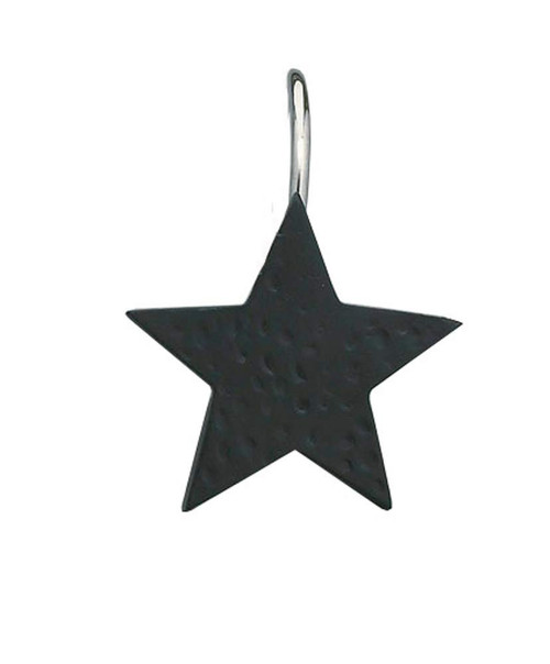 Star Shower Curtain Hooks - SALE