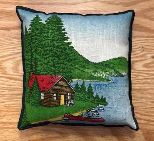 Vintage Adirondack Balsam Pillow