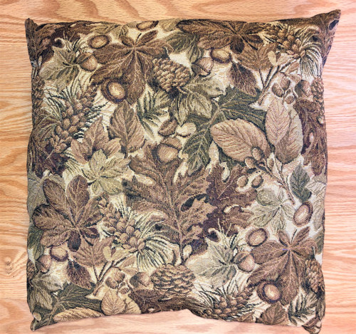 Golden Forest Tapestry Pillow