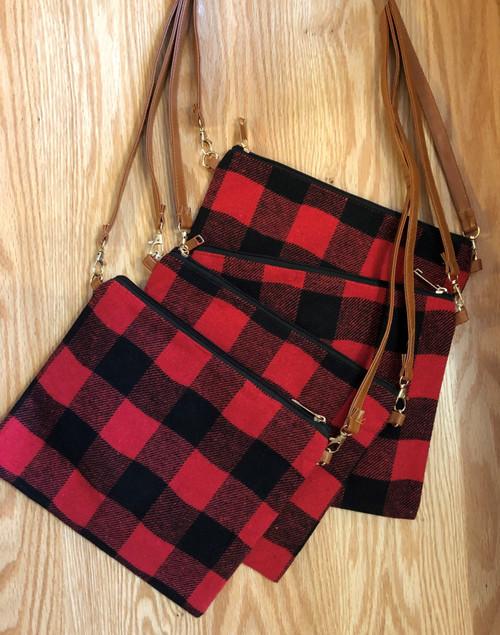 Buffalo Check Handbag