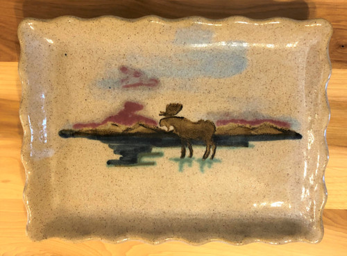 Adirondack Moose Plate
