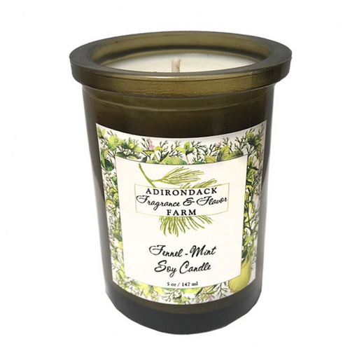 Fennel-Mint Soy Candle