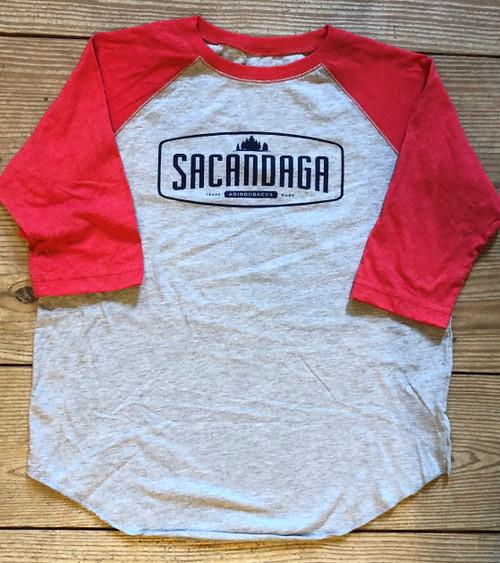 Vintage Baseball Kid's Shirts - Red