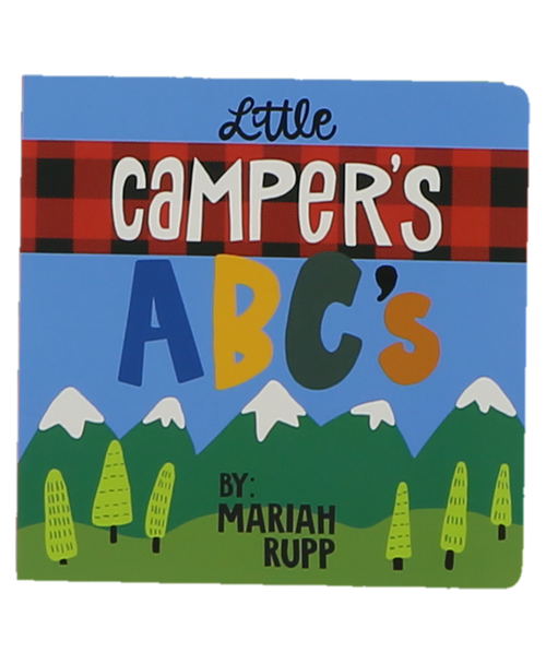 Little Camper's ABCs Board Book