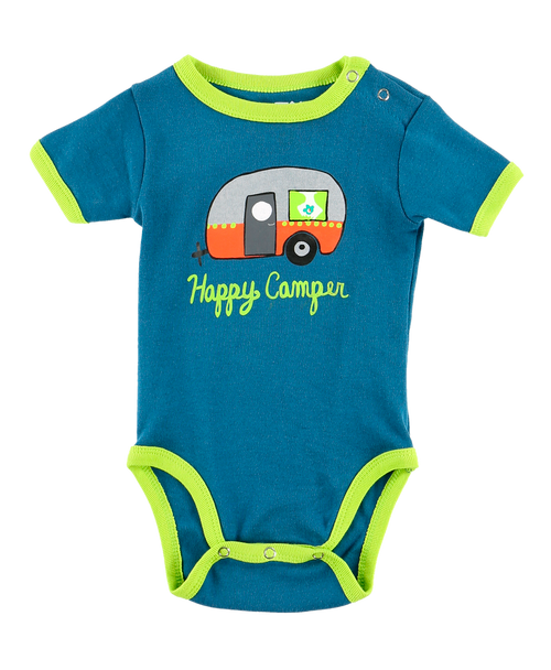 Happy Camper Infant Creeper