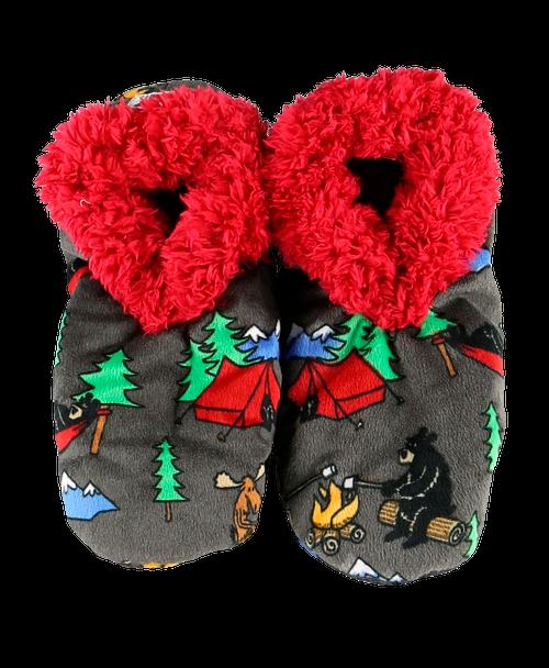 Happy Camper Fuzzy Feet Adults
