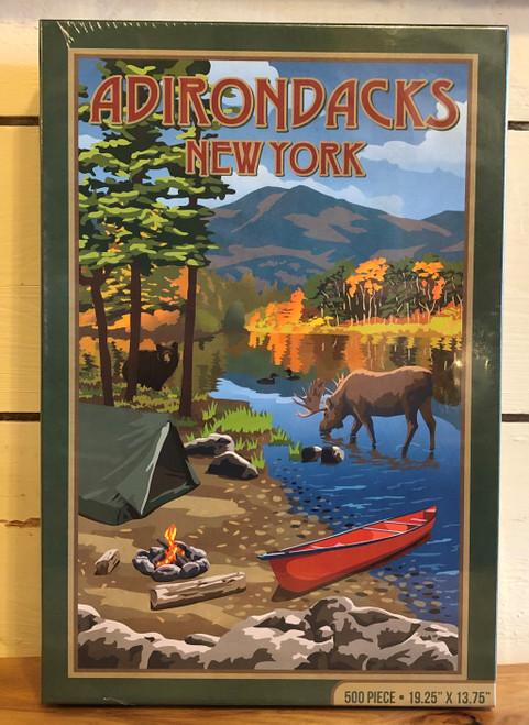 Adirondack Poster Puzzle