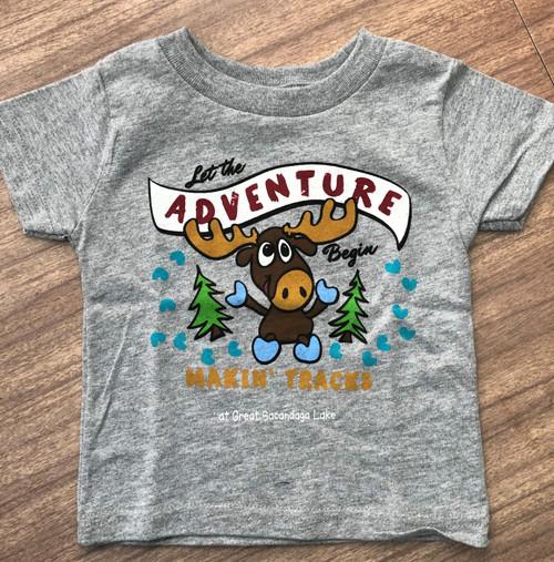 Moose Adventure Kid's Tee Shirt