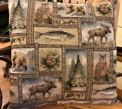 Yellowstone Tapestry Pillow