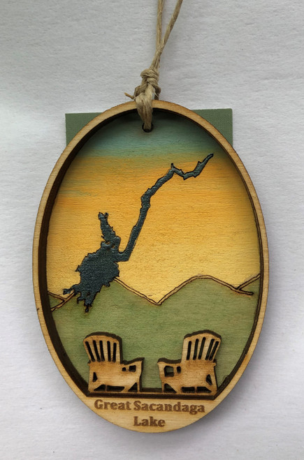 Sacandaga Lake Ornament