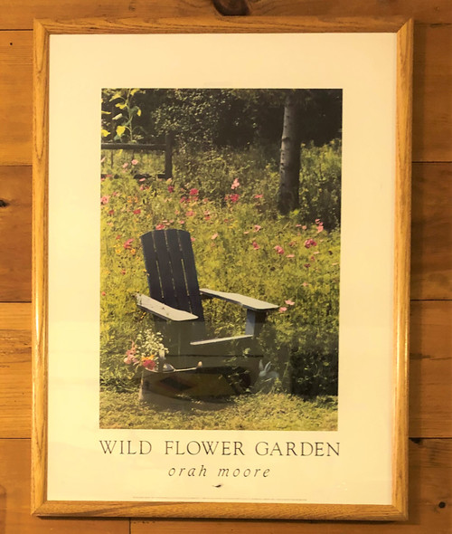 Wildflower Garden Poster by Orah Moore SALE!