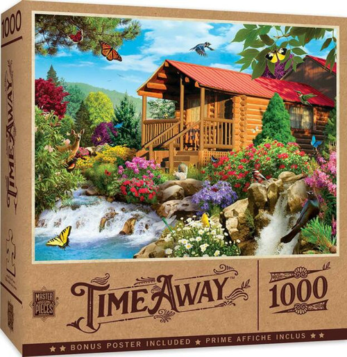 Cascading Cabin Puzzle