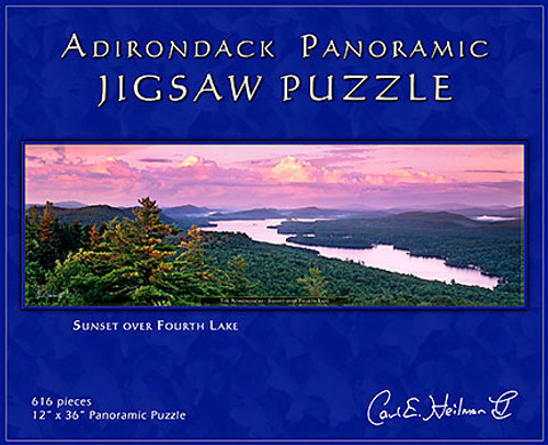 Sunset Over Fourth Lake - Carl Heilman II Puzzle