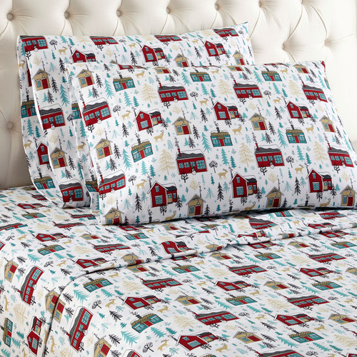Cabin Microflannel Sheets - options available