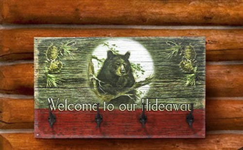Welcome to our Hideaway Coat Rack