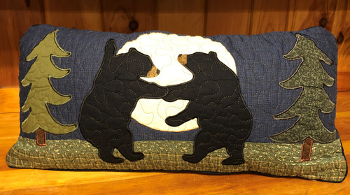 Bear Dance Pillow