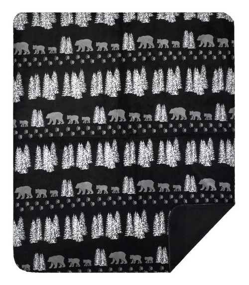 Black Bear Blanket