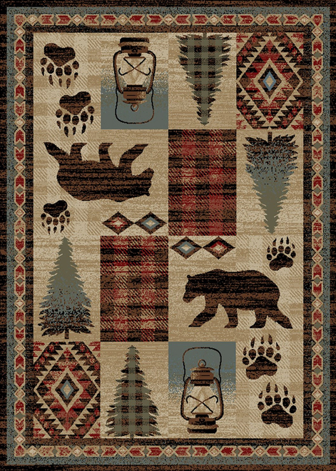 Bear Creek Rug - Options Available