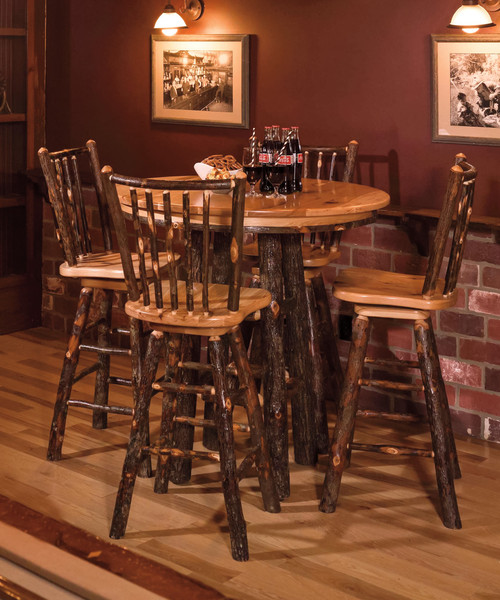 Oak and Hickory Pub Table