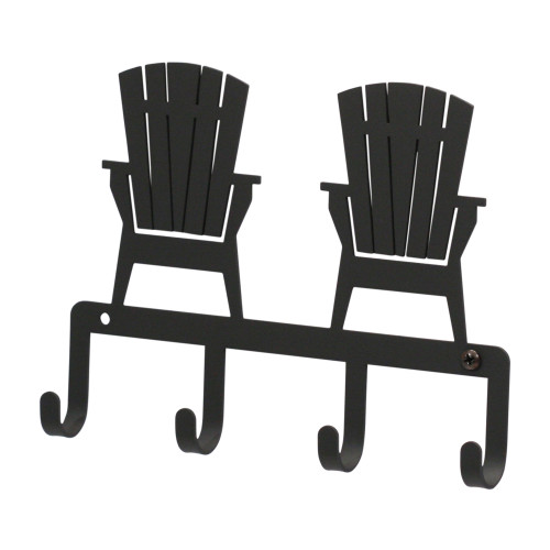 Adirondack Chairs Black Metal Multi Hook