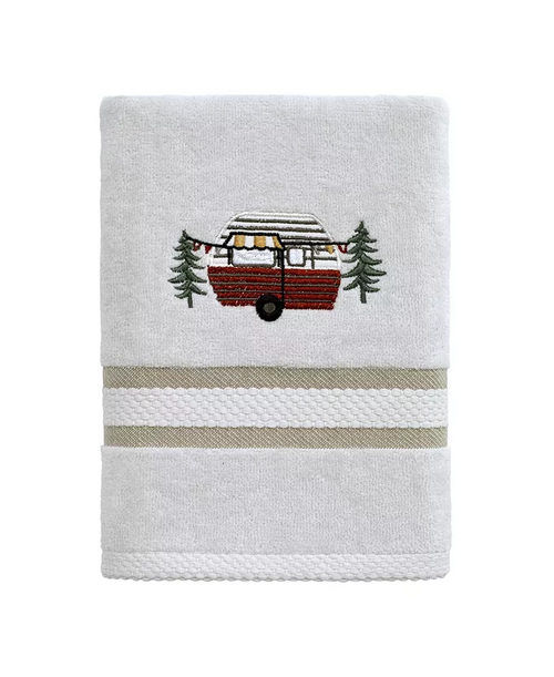 Gone Glamping Hand Towel