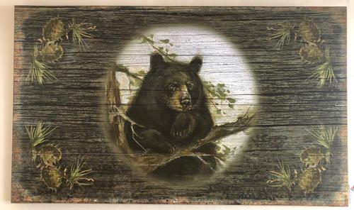 Black Bear Sign