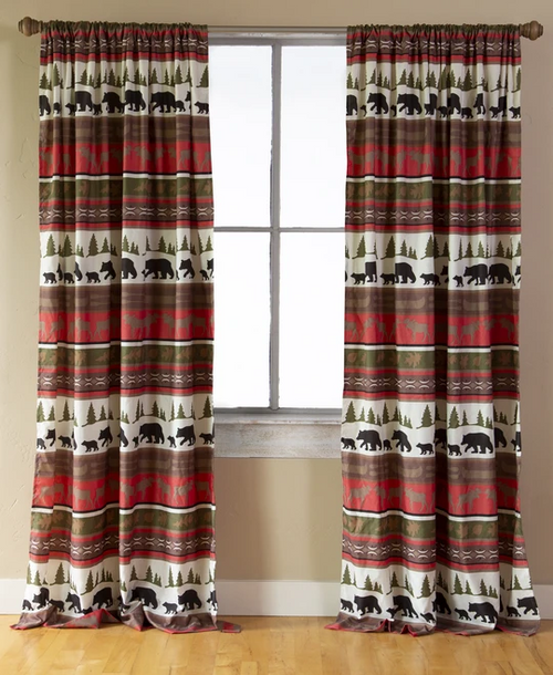 Cabin and Lodge Drapes