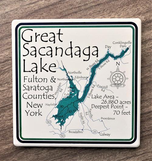 Great Sacandaga Lake Trivet