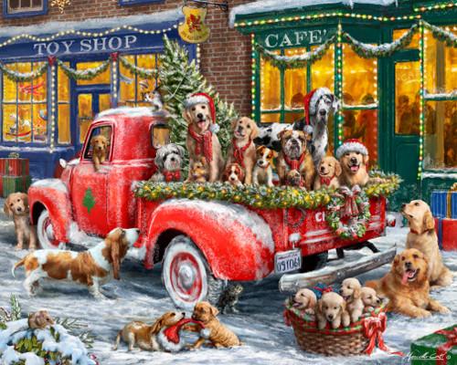 Doggone Christmas Puzzle