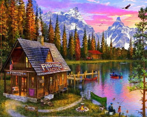 Fishing Hut Puzzle