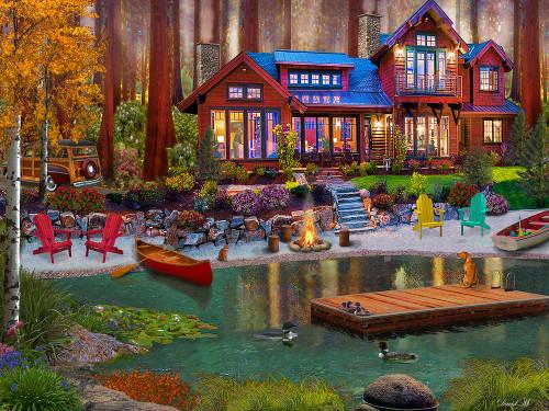Cottage Life Puzzle