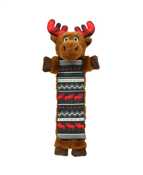 Brown Moose Dog Toy