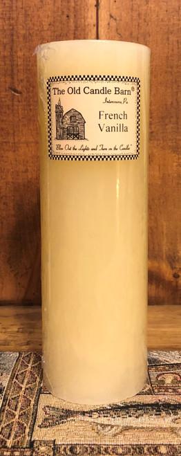 French Vanilla Pillar Candle
