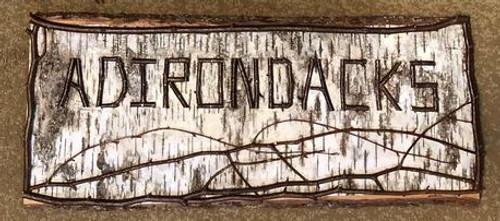 Birch & Twig Adirondacks Sign