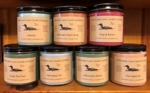Adirondack Loon Candles