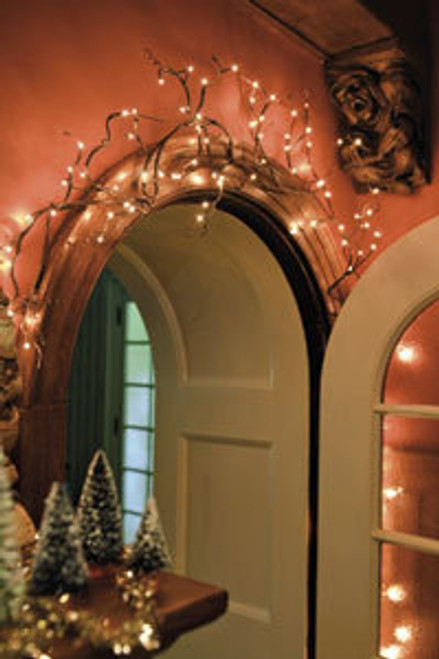 Lighted Twig Garland