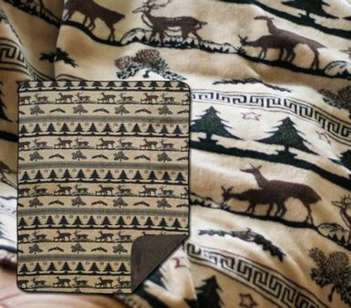 Deer Haven Throw