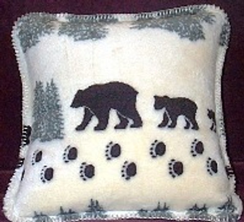 Denali Bear Pillow