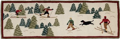 Cross Country Skiing Runner