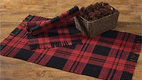 Buffalo Check Rag Rug