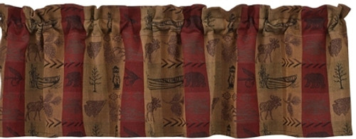 High Country Valance & Curtains