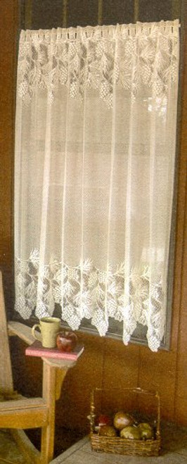 Woodland Lace Curtains & Valance