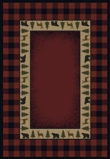 Buffalo Red Rug