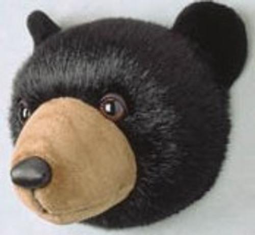 Plush Bear Head
