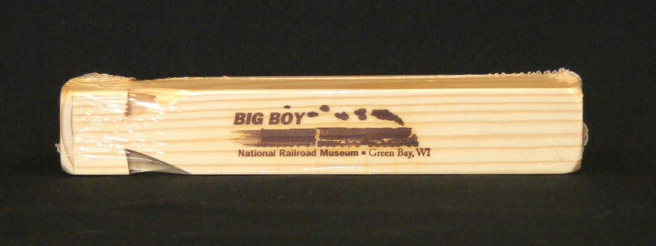 Union Pacific Big Boy 4-Tone Wooden Train Whistle
