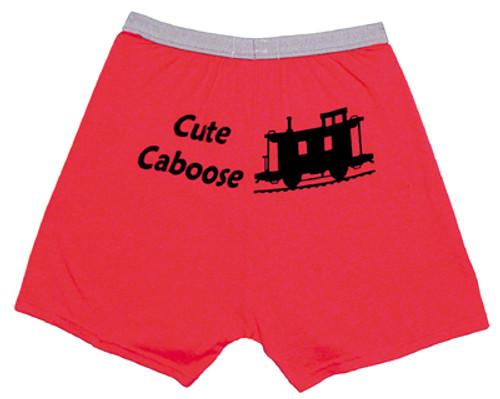 Cute Caboose Boxers